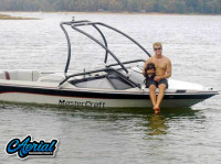 1987 Mastercraft Prostar 190 with Airborne Wakeboard Tower