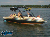 "1986 Supra Saltare 22'8"" with Airborne Wakeboard Tower"