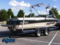 1998 Malibu Sunsetter VLX with Airborne Wakeboard Tower