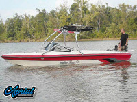 1994 Malibu Sunsetter with Airborne Wakeboard Tower