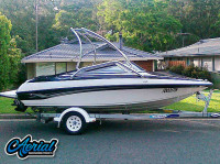 2009 Crownline with Airborne Tower