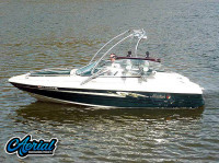 1997 Mariah Shabba 198SE with Airborne Wakeboard Tower