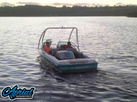 1993 Malibu Echelon with Airborne Wakeboard Tower