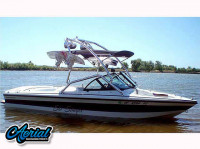 1999 Sanger DLX with Airborne Wakeboard Tower
