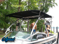 1974 Ski Nautique with Airborne Wakeboard Tower