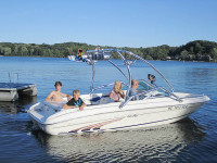1997 Sea Ray 185 Bow Rider with Airborne Tower