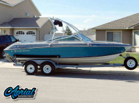 1989 Four Winns Horizon 200 with Airborne Wakeboard Tower