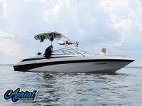 1997 Crownline 202BR with Airborne Wakeboard Tower