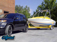 1997 Baja Islander 180 with Airborne Wakeboard Tower