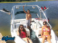 2000 Bayliner Capri 1950 with Airborne Wakeboard Tower