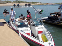 1992 Mastercraft Maristar with Airborne Tower