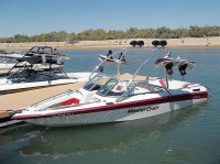 1992 Mastercraft Maristar with Airborne Wakeboard Tower