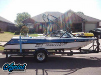 1994 Correct Craft Ski Nautique with Airborne Wakeboard Tower