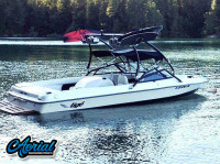 1998 Tige pre2200i with Airborne Wakeboard Tower