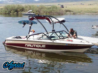1997 Sport Nautique with Airborne Wakeboard Tower