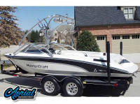 1989 Mastercraft TriStar 190 with Airborne Wakeboard Tower