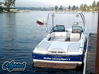 2001 Malibu Sunsetter VLX with Airborne Tower