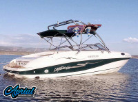 1998 Rinker Captiva 232 Cuddy  with Airborne Wakeboard Tower