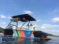 1983 Supra Rider with Airborne Wakeboard Tower