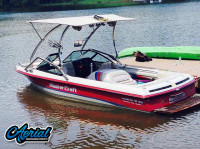 1994 MasterCraft Prostar 205 with Airborne Wakeboard Tower