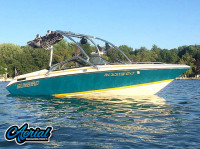 1992 Sunbird 205 Corsair with Airborne Wakeboard Tower