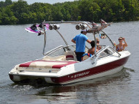 2000 Stingray 200LX with Airborne Wakeboard Tower