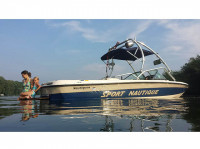 1998 Correct Craft Sport Nautique with Airborne Wakeboard Tower