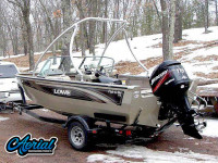 2005 lowe fish and ski with Ascent Tower