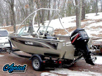 2005 Lowe Fish & Ski with Ascent Tower