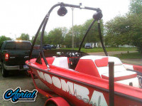 1997 Moomba Boomerang with Ascent Wakeboard Tower