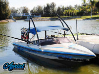 1994 Malibu Flight Craft 18XL with Ascent Wakeboard Tower