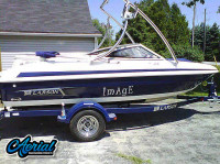 2011 Larson lx series with Ascent Tower