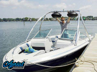 1986 Sea Ray Seville with Ascent Wakeboard Tower