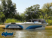 1986 Mastercraft ProStar 190 with Ascent Wakeboard Tower