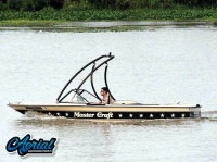 1985 Mastercraft Stars & Stripes with Ascent Wakeboard Tower