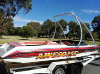 1998 Ski Craft 2000 with Ascent Wakeboard Tower