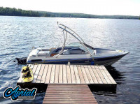 1987 Doral Cobra TRX with Ascent Wakeboard Tower