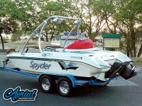 1993 Seaswirl Spyder 188 with Ascent Tower