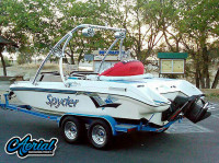 1993 Seaswirl Spyder 188 with Ascent Wakeboard Tower