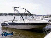 1986 Larson 17.5 Citation with Ascent Wakeboard Tower
