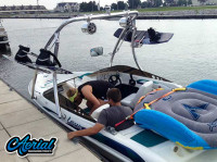 1997 Larson Flyer 176 with Ascent Wakeboard Tower
