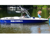 2000 Moomba with Ascent Tower