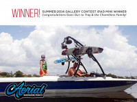 1991 Mastercraft Prostar 190 with Ascent Wakeboard Tower