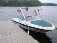 2000 Bayliner 1850 Capri LX with Ascent Wakeboard Tower