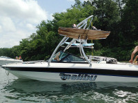 1998 Malibu Response lx with Ascent Wakeboard Tower