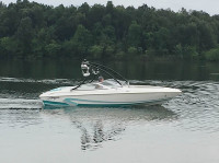 1996 Baja Islander 188 with Ascent Wakeboard Tower