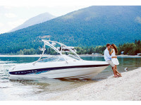 1998 Bayliner 185 Capri  with Ascent Wakeboard Tower