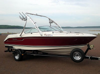 1992 Regal Valanti 200 bowrider with Ascent Wakeboard Tower