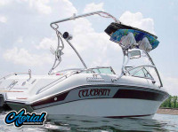1989 Celebrity 190vbr with Assault Wakeboard Tower