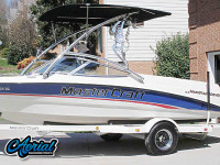 1995 MarsterCraft Maristar 200VRS with Assault Tower